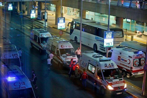 В аэропорту Стамбула пострадали россияне