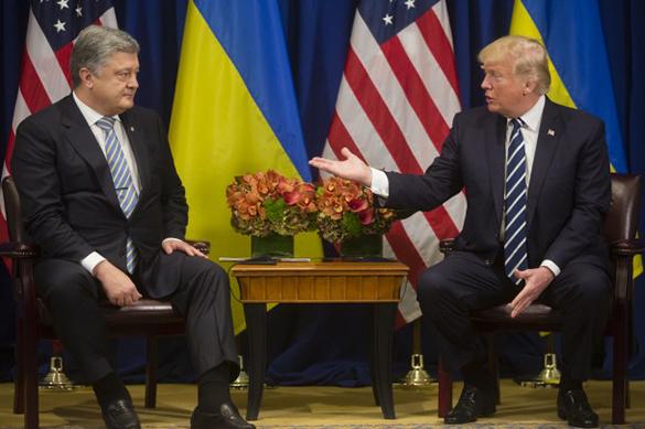 Порошенко поведал Трампу о небывалом товарообороте между США и Украиной. Порошенко поведал Трампу о небывалом товарообороте между США и У