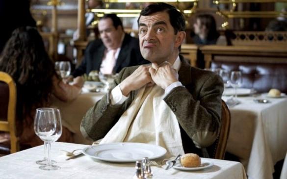 Этикет в ресторане. Мифы и реальные правила. мистер бин