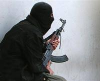 Милиционеры уничтожили боевика в Грозном