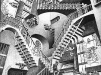 Параллельные миры художника Эшера. Относительность