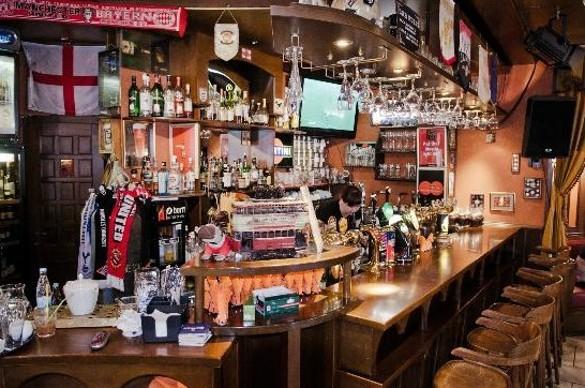 Британские бары Москвы: не дадим экспатам потеряться. бобби дазлер