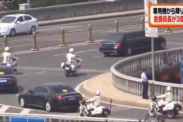 Опубликовано видео секретного прилета Ким Чен Ына в Китай. 388309.jpeg