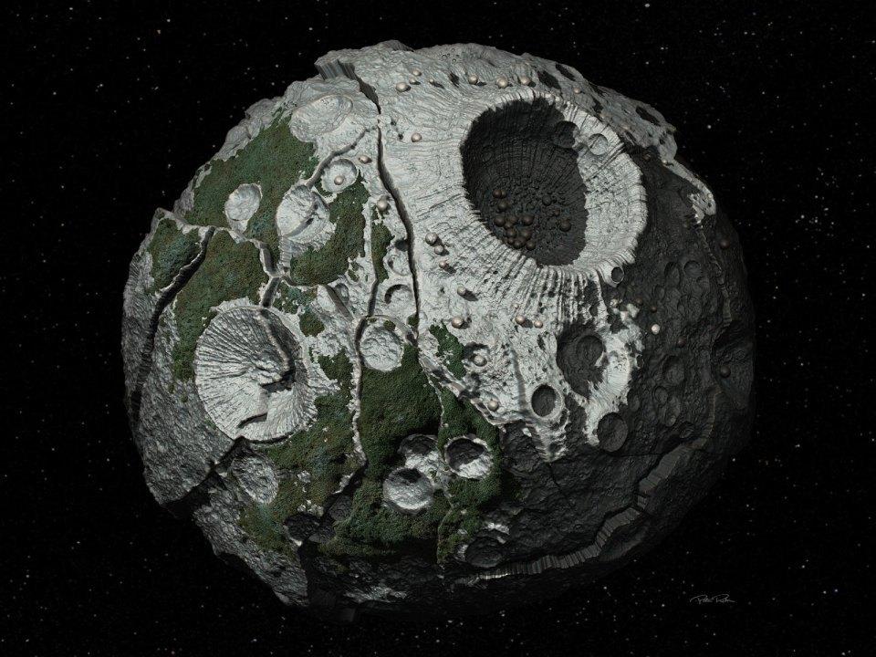 NASA готовит проект подобыче полезных ископаемых наЛуне
