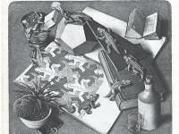 Параллельные миры художника Эшера. Рептилии