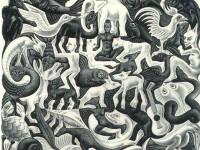 Параллельные миры художника Эшера. Орнамент