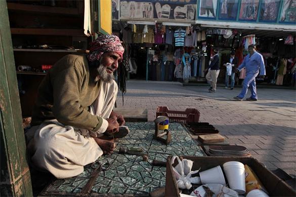 Торговля на рынке в столице Катара