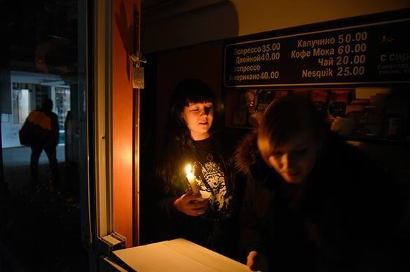 На Украине произошел сдвиг по энергофазе