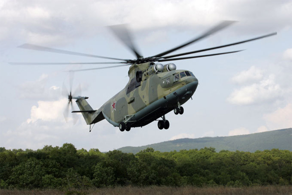 Антитеррористический вертолет разработали в России. Антитеррористический вертолет разработали в России