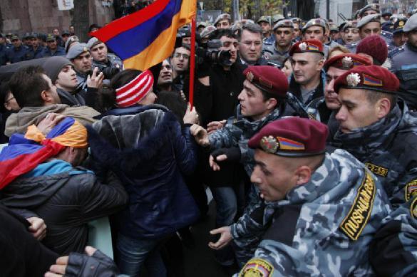 Кремль объяснил: восстание в Армении — не Майдан на Украине. Кремль объяснил: восстание в Армении — не Майдан на Украине