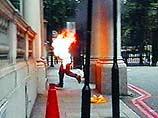 """Самосожжение в Лондоне: Иранец протестовал против """"неэтичных"""" ар"""