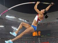 Исинбаева выиграла треть джек-пота