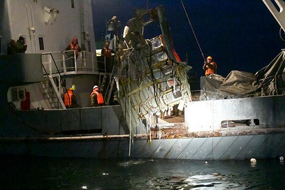 Срок расследования дела окрушении Ту-154 под Сочи продлили