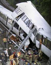 Поезда вашингтонского метро могут столкнуться в любой момент