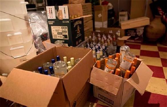 Под Красноярском найдено 4000 л алкоголя