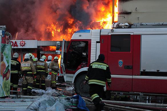 Минобороны сообщило опожаре наподземном хранилище боеприпасов