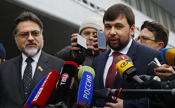 Новые дополнения к проекту изменений конституции Украины представили ДНР и ЛНР. Пушилин и Дейнего