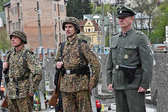 На Украине отказались считать нацистской символику дивизии СС Г