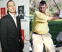 Кевин Федерлайн до и после диеты. Говорят, после развода с