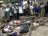 В Либерии тела жертв гражданской войны складывают у посольства С