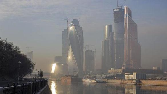 В Москва-Сити произошел пожар