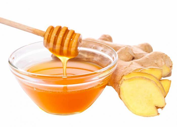 Имбирь с мёдом
