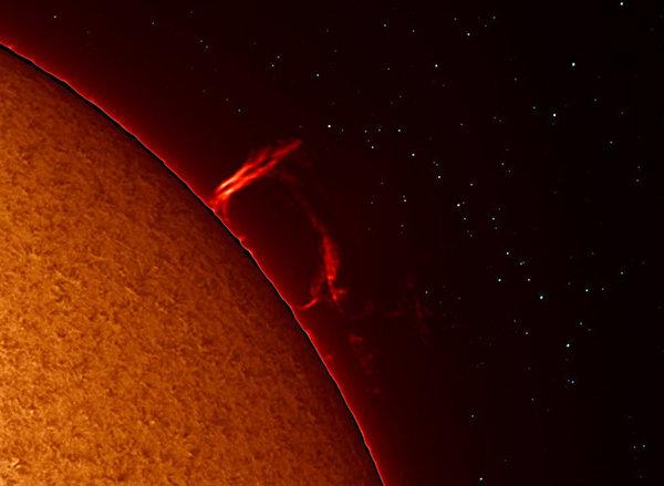 Специалисты NASA сделали детальный снимок вспышки на Солнце. 307327.jpeg