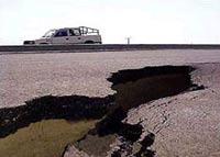 Японию поразило сильное землетрясение