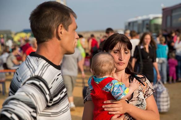 Принявшие гражданство РФ украинцы уже получают маткапитал.