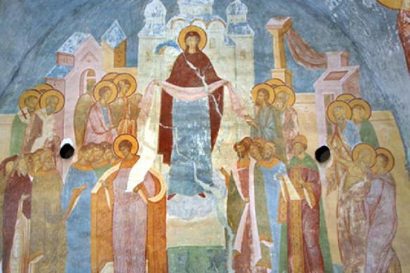 Как празднуют верующие люди Покров Пресвятой Богородицы. 393329.jpeg