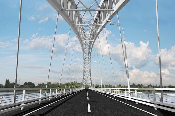 ВНижнем Новгороде открылся мост-дублер через Волгу