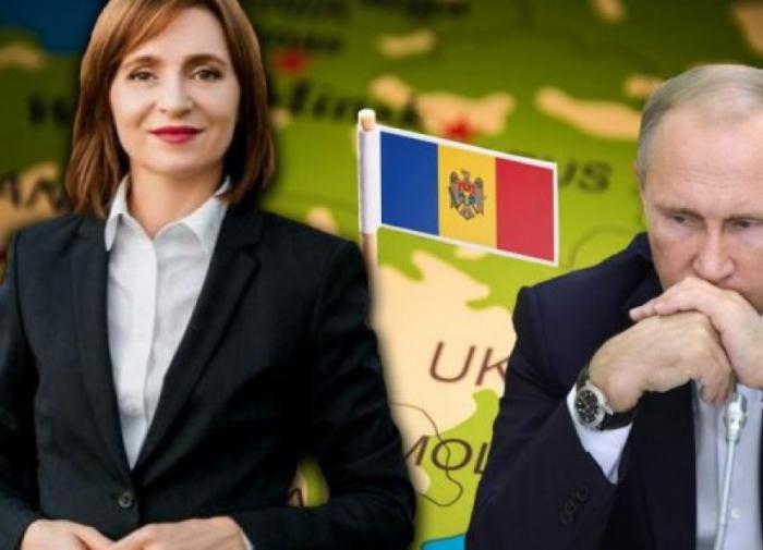 Владимир Путин и Майя Санду