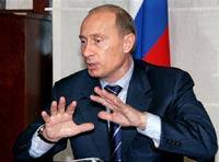 Путин прибыл в Пикалево
