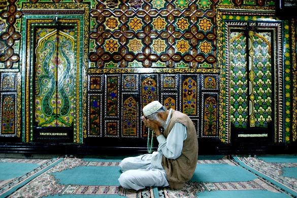 старик мусульманин