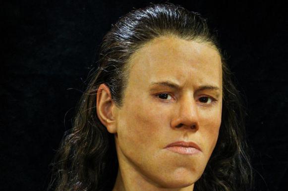 Ученые восстановили облик девушки из каменного века по найденному черепу. Ученые восстановили облик девушки из каменного века по найденном