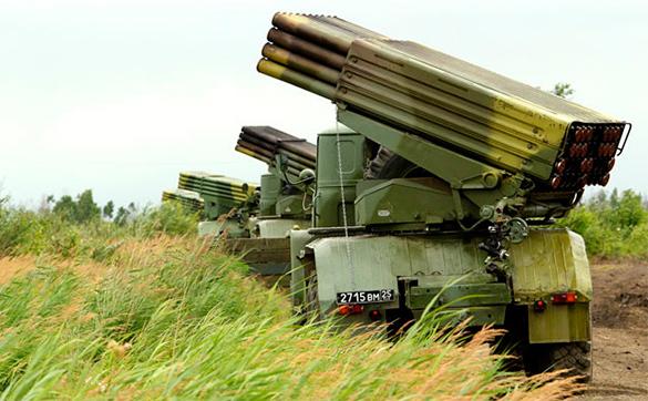 ВСУ прячут свою технику у границ ДНР и наращивают частоту обстрелов день ото дня. 318335.jpeg