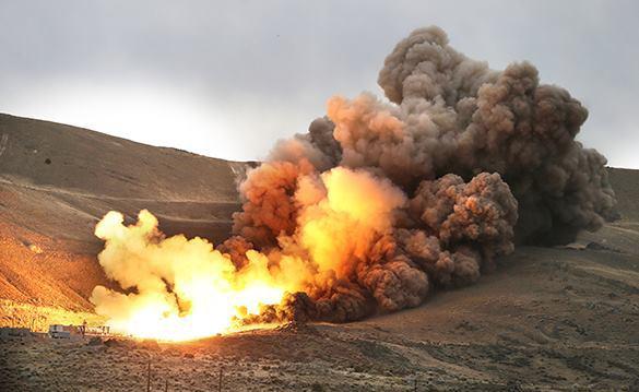 NASA и АТК провели испытания ракетного двигателя будущего. Испытания