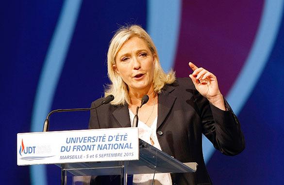 Марин Ле Пен лишат неприкосновенности