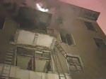 В военном общежитии пожар уносит жизни