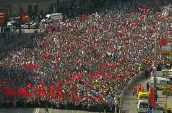 Более 300 тысяч человек приняли участие в акции