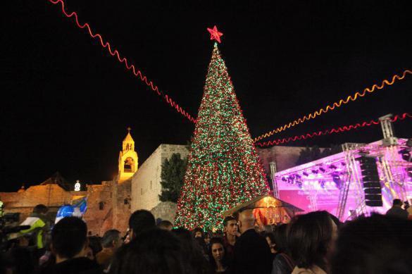 Началось: в палестинском Вифлееме обесточена Рождественская ель. 380338.jpeg