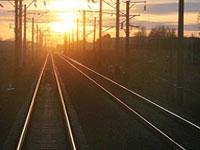 В Ханты-Мансийском округе сошел с рельсов грузовой поезд