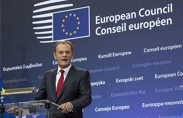 Дональд Туск: В Европе мало желающих помочь Украине оружием. Председатель Евросовета Дональд Туск