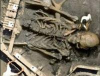 Жители Таджикистана наткнулись на двухметровый скелет древнего