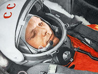 Мир празднует 50-летие полета Юрия Гагарина. gagarin