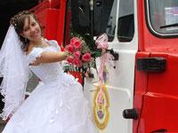 Невеста спасла дом от пожара