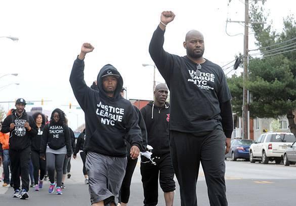 За время протестов в Балтиморе задержали 12 человек. протесты в Балтоморе