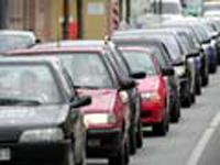Рижское шоссе встало из-за аварии