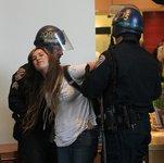 В Сан-Франциско арестованы сто студентов-демонстрантов. usa