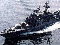 Японский патрульный корабль устроит